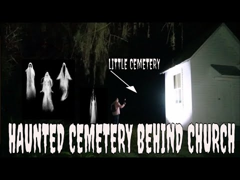 "OLD CHURCH & CEMETERY ""EXTREMELY HAUNTED""!!! CAUGHT ON CAMERA!!"