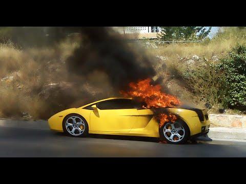 SPORTS CAR FIRE PRANK!! (DENNIS ROADY)