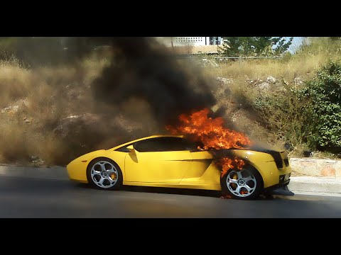 Thumbnail: SPORTS CAR FIRE PRANK!! (DENNIS ROADY)