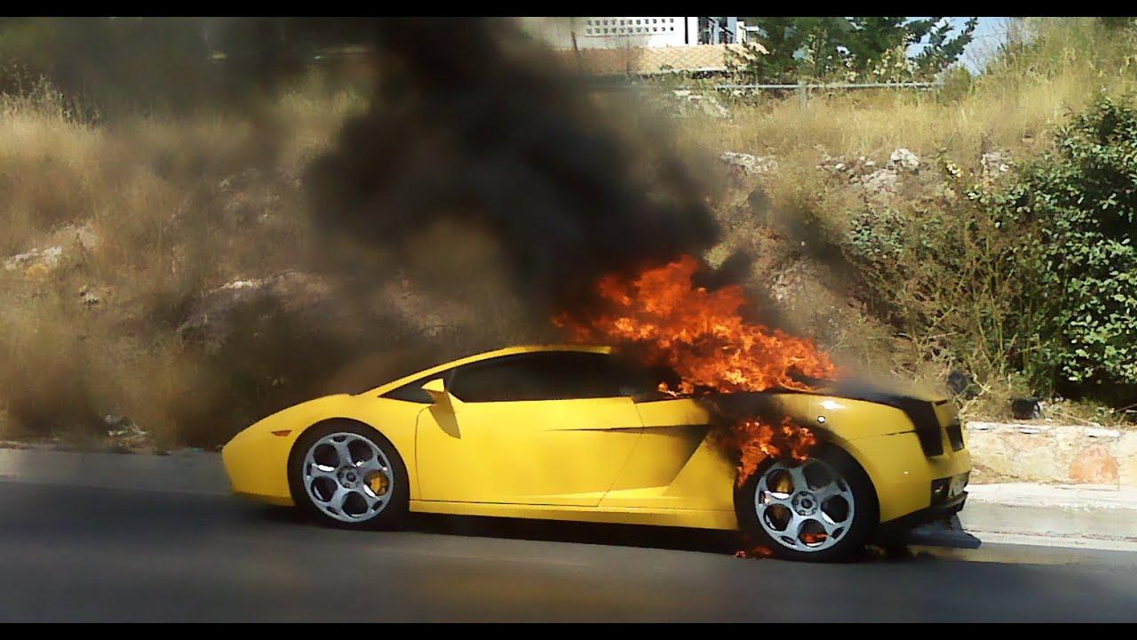 Sports Car Fire Prank Dennis Roady Youtube