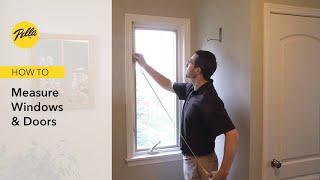 How to Measure Your Windows & Doors