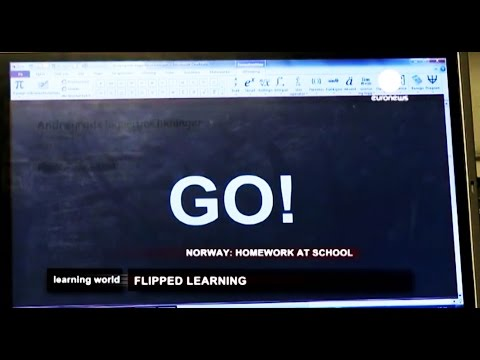 Norway's flipped classes: homework at school (Learning World: S3E06, part 2/3)