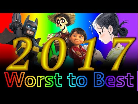 Worst to Best: Animated Films of 2017 (Part 2)