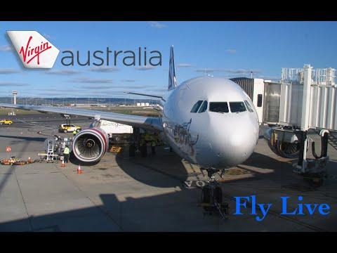 Virgin Australia VA 570 (Night Flight)  Perth To Sydney Flight Report (Airbus A330-200)