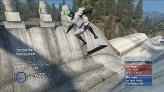 Skate 3 Fake Shooting Star Meme!