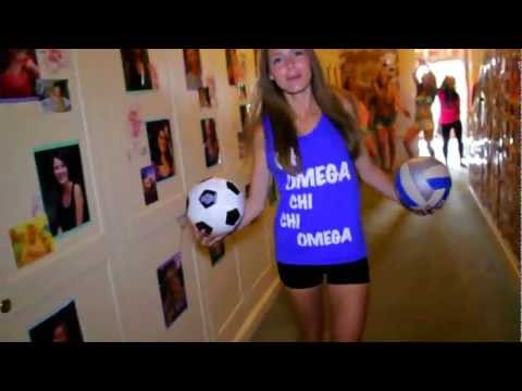 Chi Omega Lip Dub - UC Berkeley [Get Yourself Back Home]