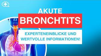 Akute Bronchitis - das sollten Sie wissen! - NetDoktor.de