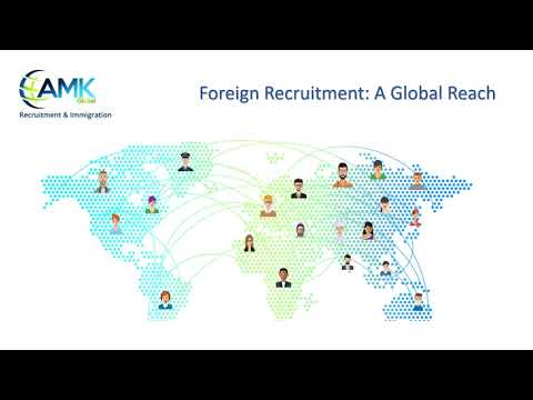 AMK GLOBAL, Recruitment & Immigration - Connecting Organizations with top quality candidates.
