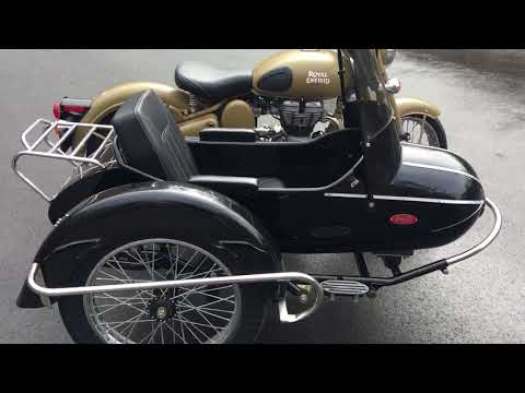 2017 Royal Enfield Bullet, With Sidecar - YouTube