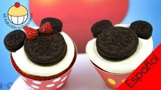 ¡Cómo Hacer Cupcakes de Mickey y Minnie Mouse! Un Tutorial Práctico de Cupcake Addiction