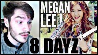 "Megan Lee ""8 Dayz"" ft. Junhyung Reaction | Awkward Kpop"