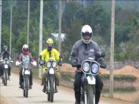 Motorcycle Laos with