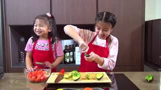 Cooked by Celine - How To Cook Avocado And Tomato Salad