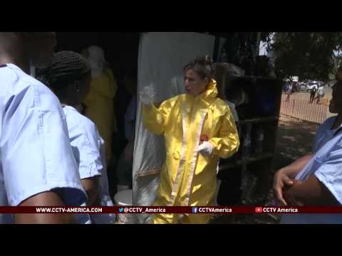 Dr. Stephen Morse and  Dr. James E. Crowe talk about fight against Ebola