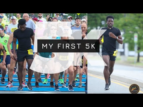 running my first 5k race | my 5k race time
