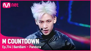 [BamBam - Pandora] Solo Debut Stage | #엠카운트다운 EP.714 | Mnet 210617 방송