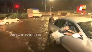 Heavy Rainfall Lashes Mumbai WATCH