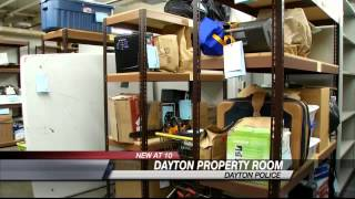 EXCLUSIVE: Behind the Scenes of Dayton Police Property Room