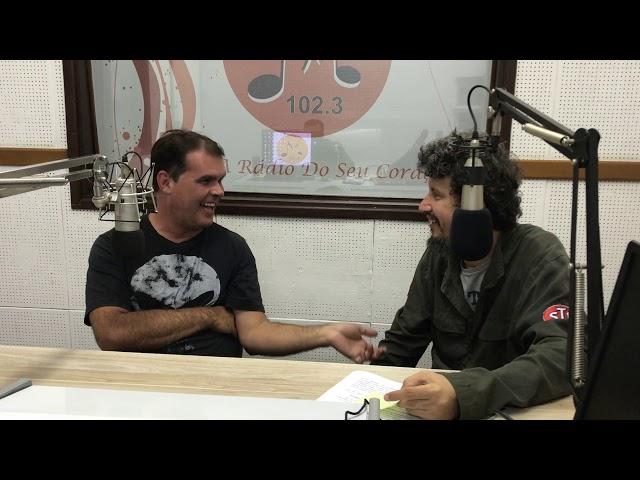 Banda Cara de Pau Motorcycle Rock - Rádio Melodia FM