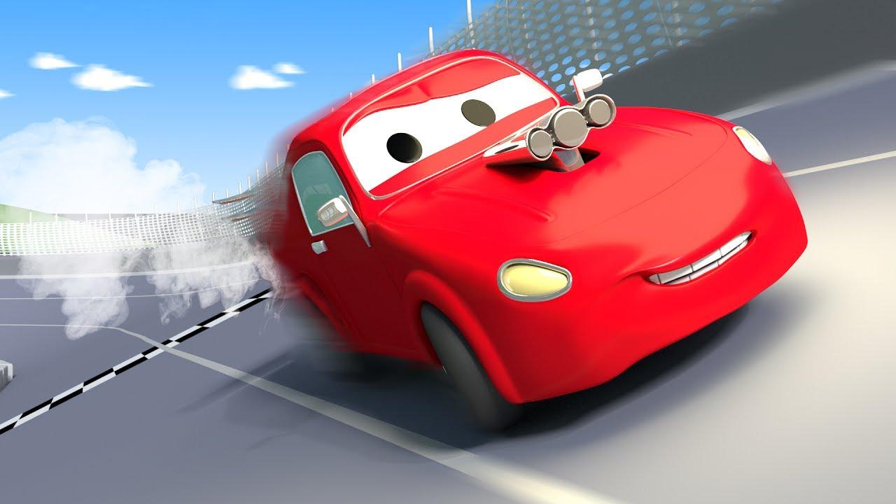 Tom la d panneuse et jerry la voiture de course dans la - Course de voiture dessin anime ...