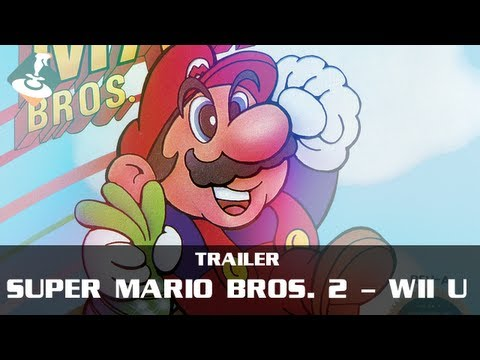 Super Mario Bros. 2 coming to Wii U Virtual Console on May 16