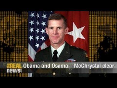 Obama and Osama - McChrystal clear
