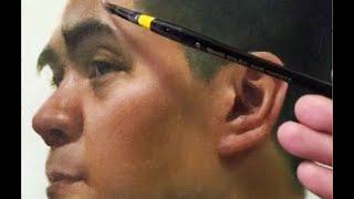 Zimou Tan | Art | How to paint, a male portrait demo.