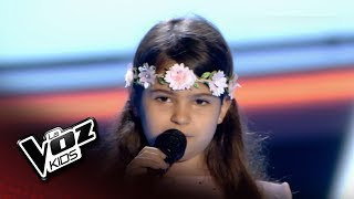 "Video Teresa: ""Por Ti Volaré"" – Audiciones a Ciegas  - La Voz Kids 2018 download MP3, 3GP, MP4, WEBM, AVI, FLV September 2018"