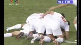 Vietnam vs Singapore 1-0 ( lượt trận cuối vòng bảng AFF Suzuki cup 2010 ) High Quality