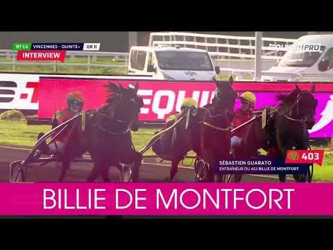 Välkommen till Elitloppet 2020 Billie de Montfort!