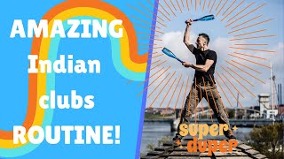 #1 Indian clubs routine with Pahlavandle™