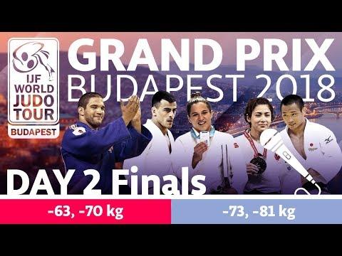 Judo Grand-Prix Budapest 2018: Day 2 - Final Block