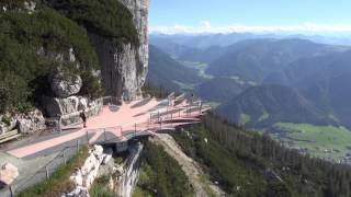 Bergbahn Steinplatte Waidring im Sommer