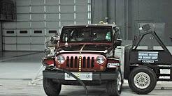 2008 Jeep Wrangler 2-door side IIHS crash test