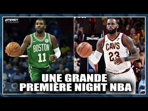 UNE GRANDE PREMIÈRE NIGHT NBA ! NBA First Talk #28