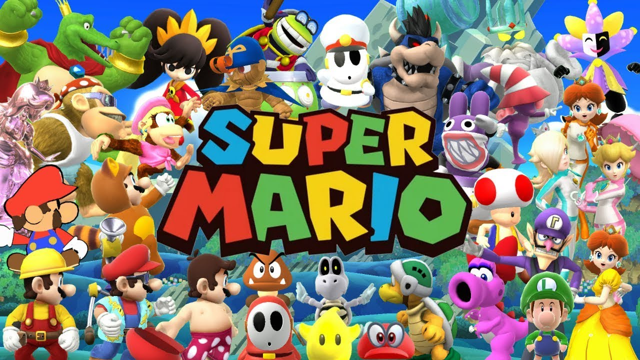 Super Mario (& DK) Skins for Super Smash Bros. Wii U! [Mods]