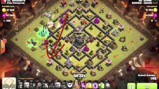 Clash of Clans how to 3 star GOWIWI TH 9 BORNEO SQUAD BAHASA INDONESIA