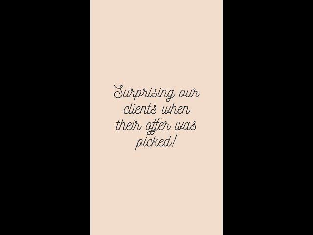 Surprising our clients!!