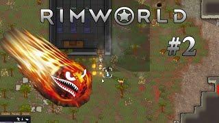 RimWorld |#2| wściekłe zwierzęta i lodówka |gameplay | PL