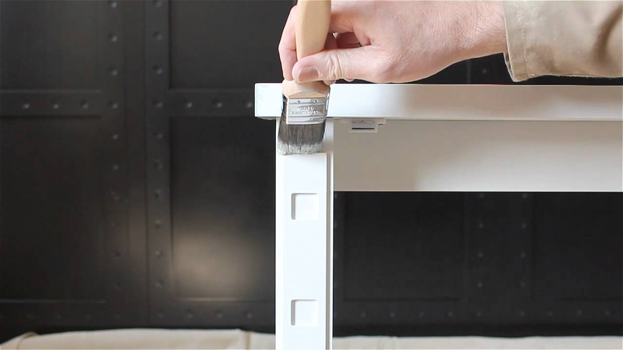 How To Brush Roller Paint Your Cabinet