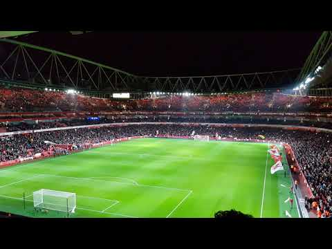 Arsenal vs Chelsea Light Show 2018!!!!!!!!