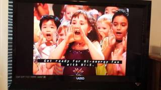 opening to hi5 usa move your body dvd 2006
