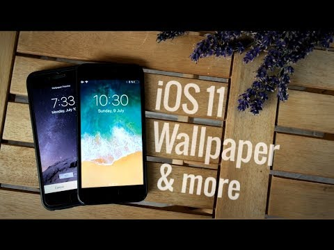 Ios 11 Wallpaper Get Cool Backgrounds Youtube