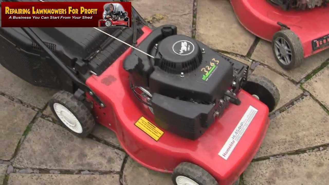 Repairing Lawn Mowers For Profit Part 51 Mountfield Sv150 Tips And Homelite Mower Wiring Diagram Tricks No Spark
