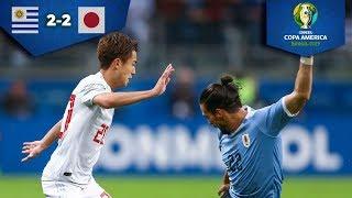 ¡Partidazo entre Uruguay y Japón!| Uruguay 2 - 2 Japón | Copa América | Televisa Deportes