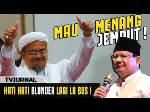 MAU MENANG ? Prabowo Harus Datangkan Rizieq Shihab dalam Reuni 212