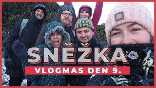 VLOGMAS Den 9. | Na Sněžku na východ slunce!