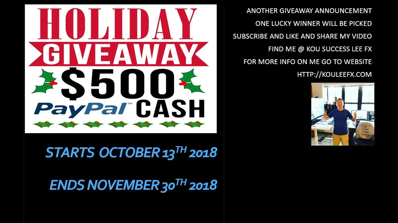 Forex giveaway
