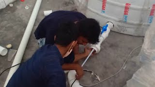 water tank fitting 2in1