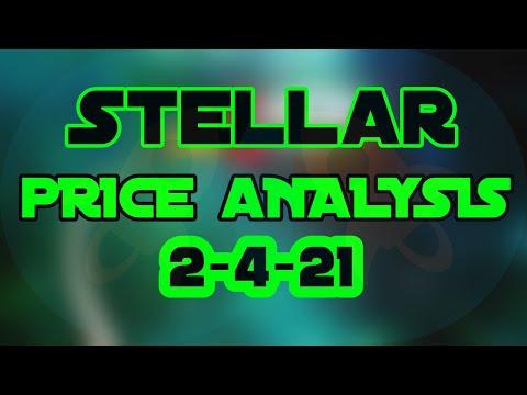Crypto Markets & Stellar Lumens XLM Price Prediction & Technical Analysis 2/4/21